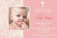 Baptism Invitation Card : Baptism Invitation Card Templates inside Baptism Invitation Card Template
