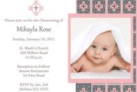 Baptism Invitation Template : Baptism Invitation Card pertaining to Baptism Invitation Card Template