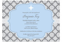Baptism Invitation Template : Collection Of Thousands Of with Blank Christening Invitation Templates