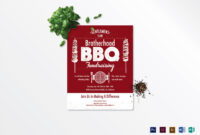 Barbecue Fundraising Flyer Template within Bbq Fundraiser Flyer Template