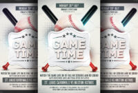 Baseball Flyer Templates | Templates And Samples with Baseball Fundraiser Flyer Template