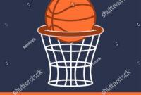 Basketball Tournament Flyer Poster Template Stock Vector with Basketball Tournament Flyer Template