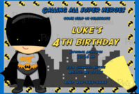 Batman Birthday Card Template ] – Batman Birthday Card inside Batman Birthday Card Template