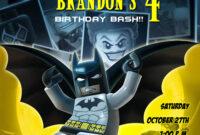 Batman Birthday Invitations Templates Ideas : Batman in Batman Birthday Card Template