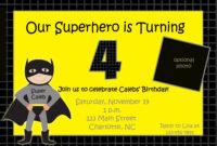 Batman Birthday Invitations Templates Ideas : Batman inside Batman Birthday Card Template