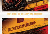 Bbq Graphics, Designs & Templates From Graphicriver regarding Bbq Fundraiser Flyer Template