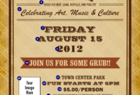 Bbq Ticket Template Free. From Ethiopia Upcoming Adoption with Bbq Fundraiser Flyer Template