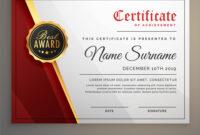 Beautiful Certificate Template Design With Best for Beautiful Certificate Templates