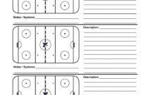 Bedford Minor Hockey Association Hockey Poweredgoalline.ca for Blank Hockey Practice Plan Template
