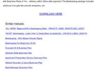 Beekeeping Business Planpreciouspaulson – Issuu in Acupuncture Business Plan Template