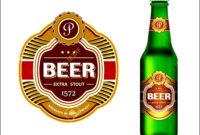Beer Bottle Label Template Word – Sample Templates – Sample in Beer Label Template Psd