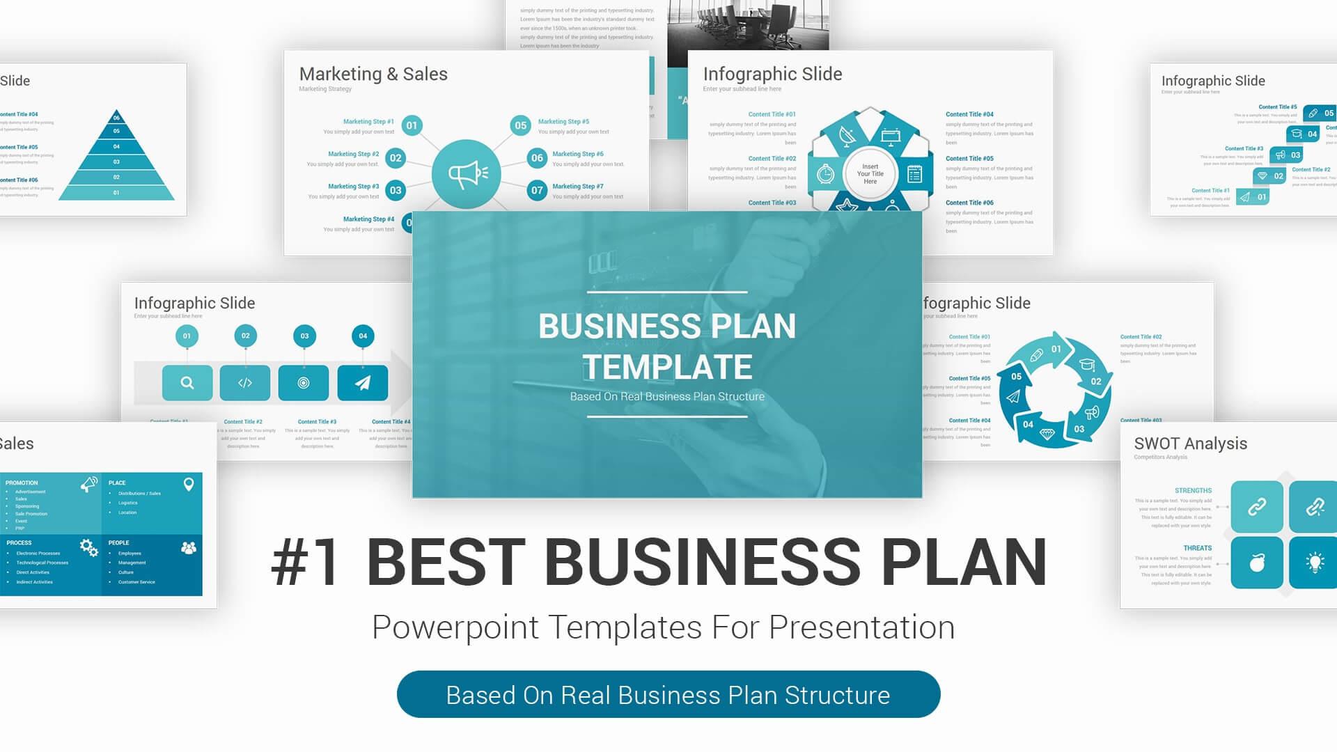 Best Business Plan Powerpoint Presentation Templates, 2020 Intended For Business Plan Presentation Template Ppt