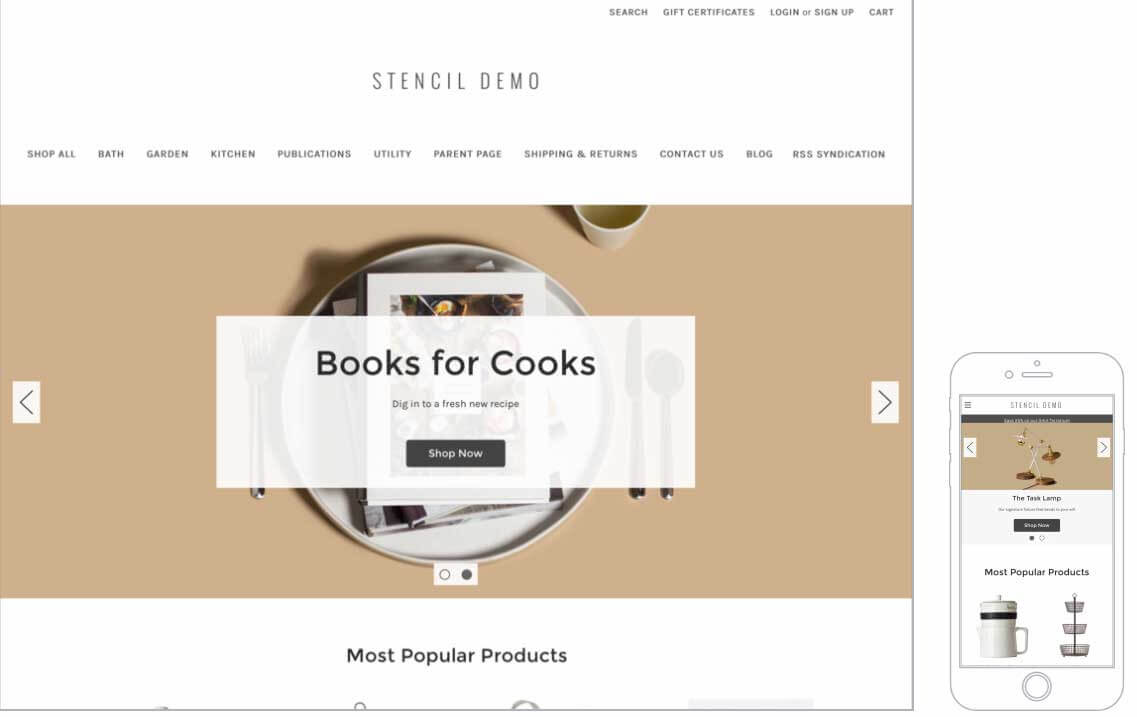 Best Free Bigcommerce Themes & Templates For 2020 Throughout Big Commerce Templates