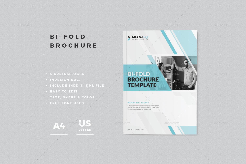 Bi Fold Brochure Template Pertaining To Bi Fold Menu Template