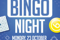 Bingo Night Flyer inside Bingo Night Flyer Template