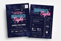 Bingo Night Flyer Template – Psd, Ai & Vector – Brandpacks inside Bingo Night Flyer Template