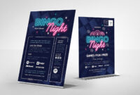 Bingo Night Flyer Template – Psd, Ai & Vector – Brandpacks intended for Bingo Night Flyer Template