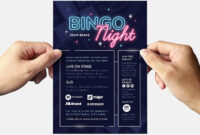 Bingo Night Flyer Template – Psd, Ai & Vector – Brandpacks throughout Bingo Night Flyer Template