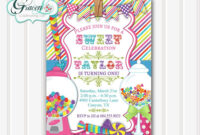 Birthday Invitations Design : Birthday Invitations Designs with Blank Candyland Template