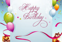 Birthday Template Free Download Awesome Birthday Card regarding Birthday Card Publisher Template