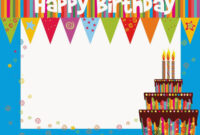Birthday Template Free Download Fresh Free Printable with Birthday Card Template Indesign