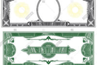 Blank Banknote Layout Image & Photo (Free Trial) | Bigstock with regard to Bank Note Template
