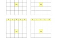 Blank Bingo Cards Printable – Fill Online, Printable within Blank Bingo Template Pdf