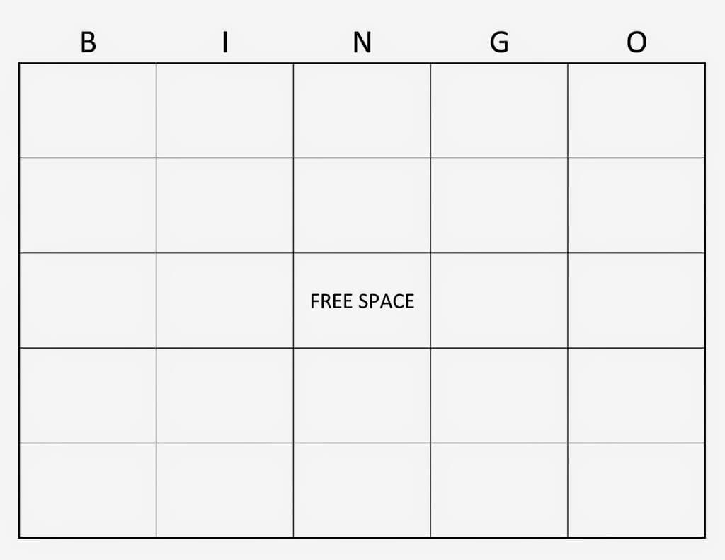 Blank Bingo Template Word | Sample Cv English Resume With Regard To Blank Bingo Template Pdf
