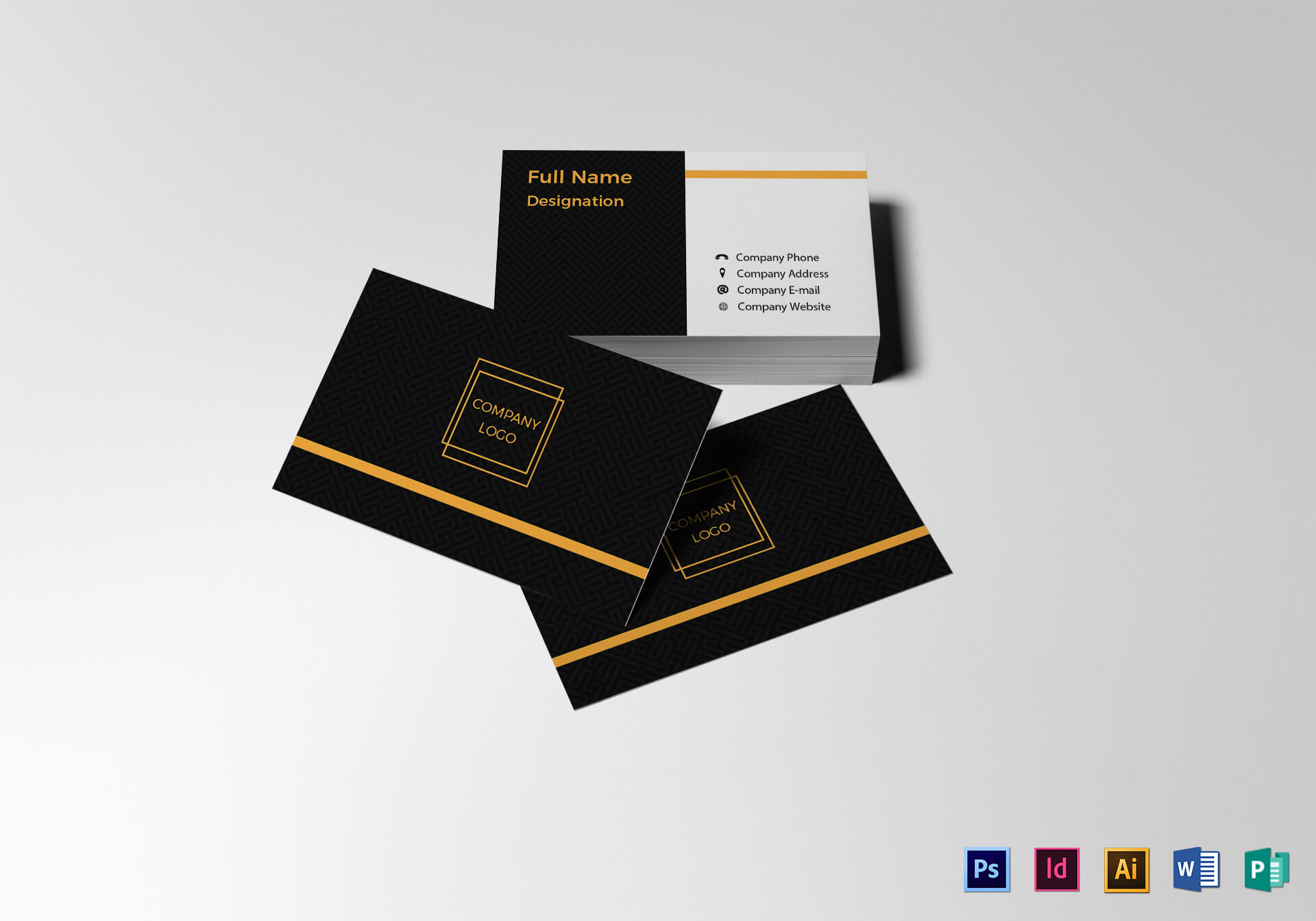 Blank Business Card Template Pertaining To Blank Business Card Template Psd