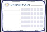 Blank Chart Reward | Templates At Allbusinesstemplates in Blank Reward Chart Template