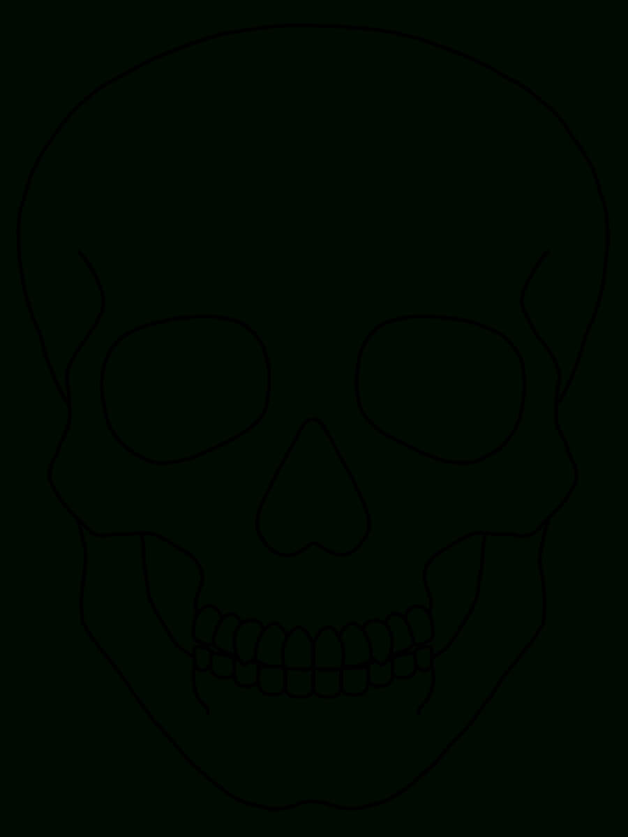 Blank Drawing Skull, Picture #962147 Blank Drawing Skull Throughout Blank Sugar Skull Template