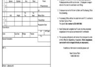 Blank Eyeglass Prescription Form – Fill Online, Printable in Blank Prescription Form Template