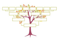 Blank Family Tree Template | Free Instant Download pertaining to Blank Tree Diagram Template