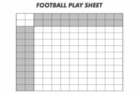 Blank Football Template – Tunu.redmini.co intended for Blank Football Depth Chart Template