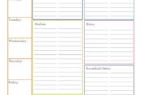 Blank Grocery List – Colona.rsd7 pertaining to Blank Grocery Shopping List Template