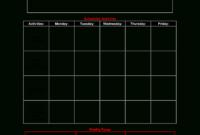 Blank Preschool Lesson Plan | Templates At pertaining to Blank Preschool Lesson Plan Template