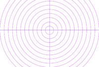 Blank Radar Screen Stock Illustration. Illustration Of Radar inside Blank Radar Chart Template