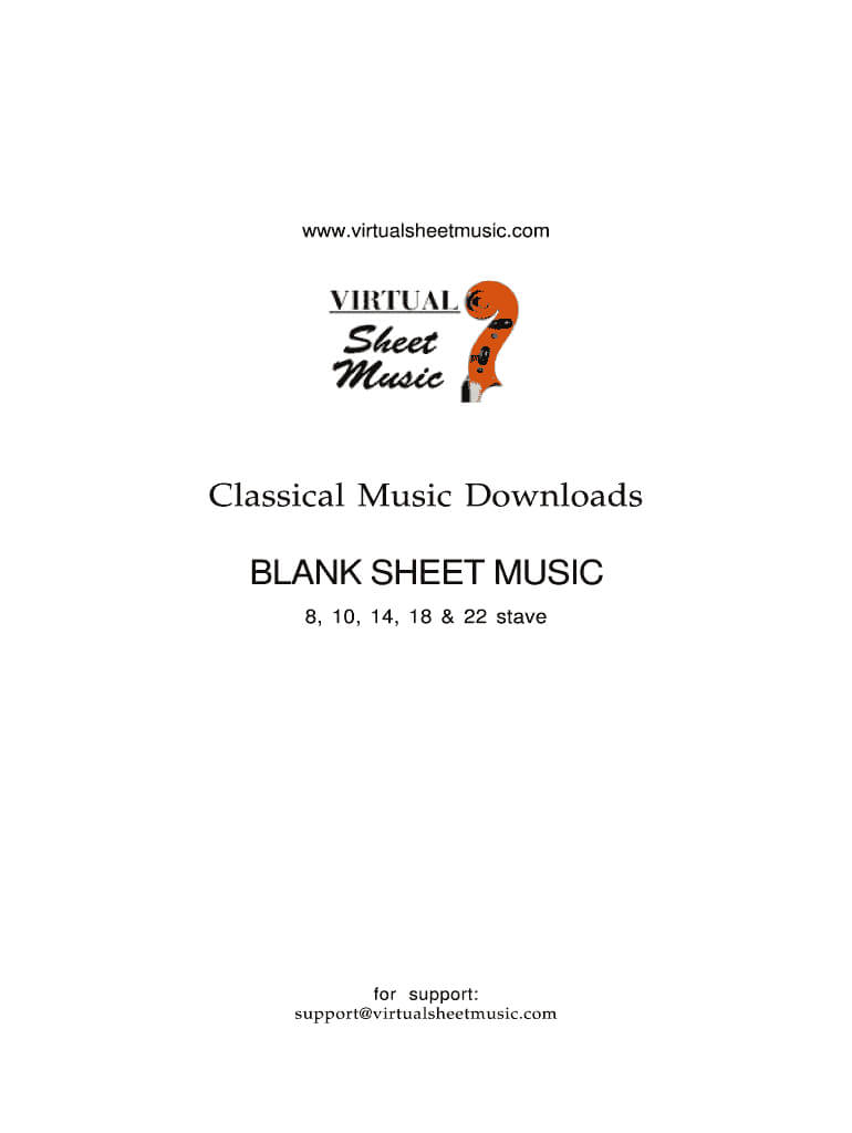 Blank Sheet Music To Type On – Fill Online, Printable In Blank Sheet Music Template For Word