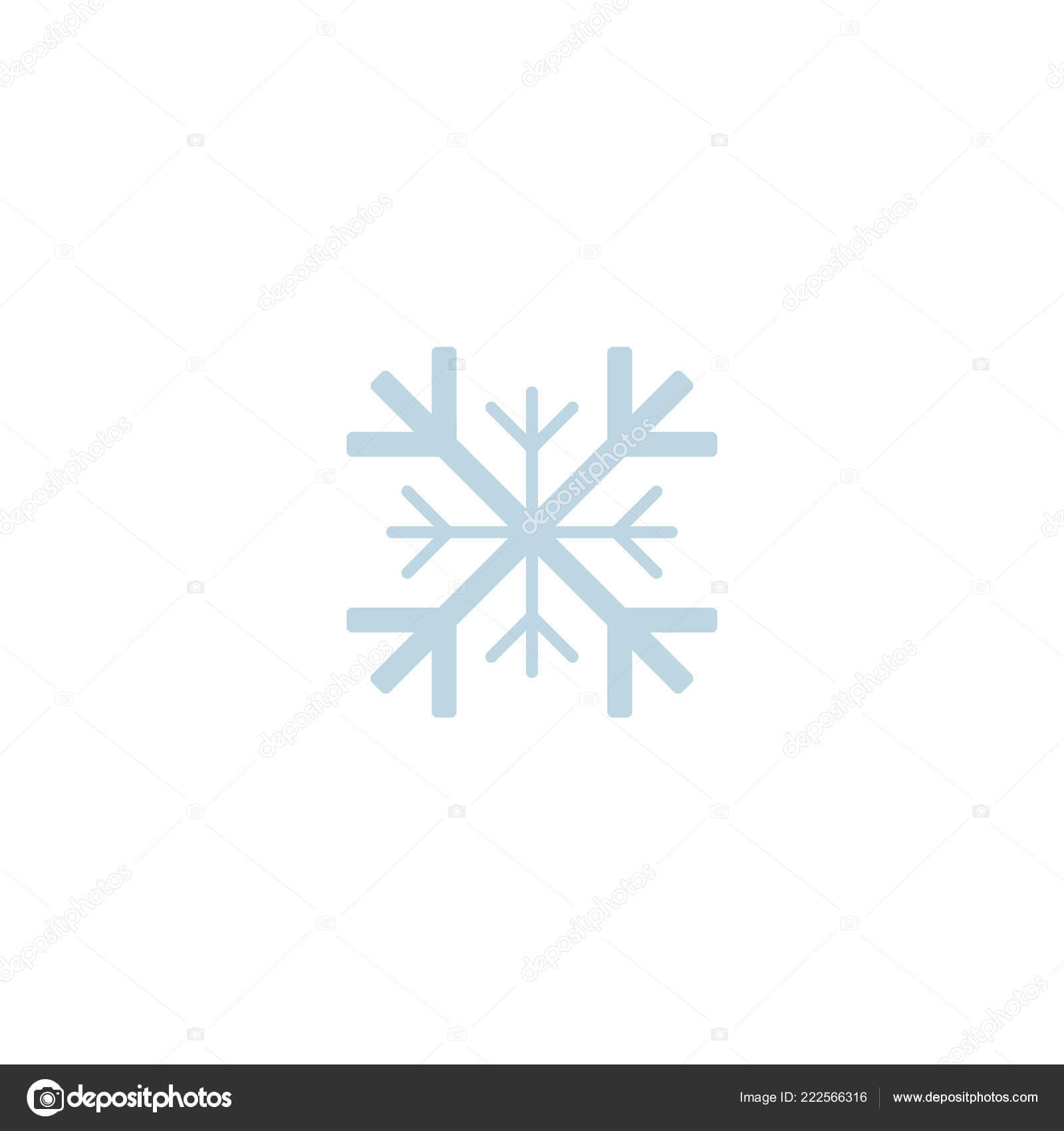 Blank Snowflake Template | Snowflake Icon Template Christmas For Blank Snowflake Template