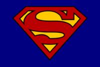 Blank Superman Logos regarding Blank Superman Logo Template