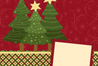 Blank Template For Christmas Greetings Card regarding Blank Christmas Card Templates Free