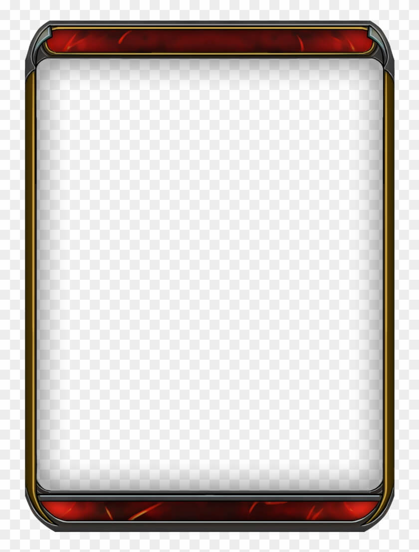 Blank Trading Card Templates – Playing Card Clipart For Blank Magic Card Template