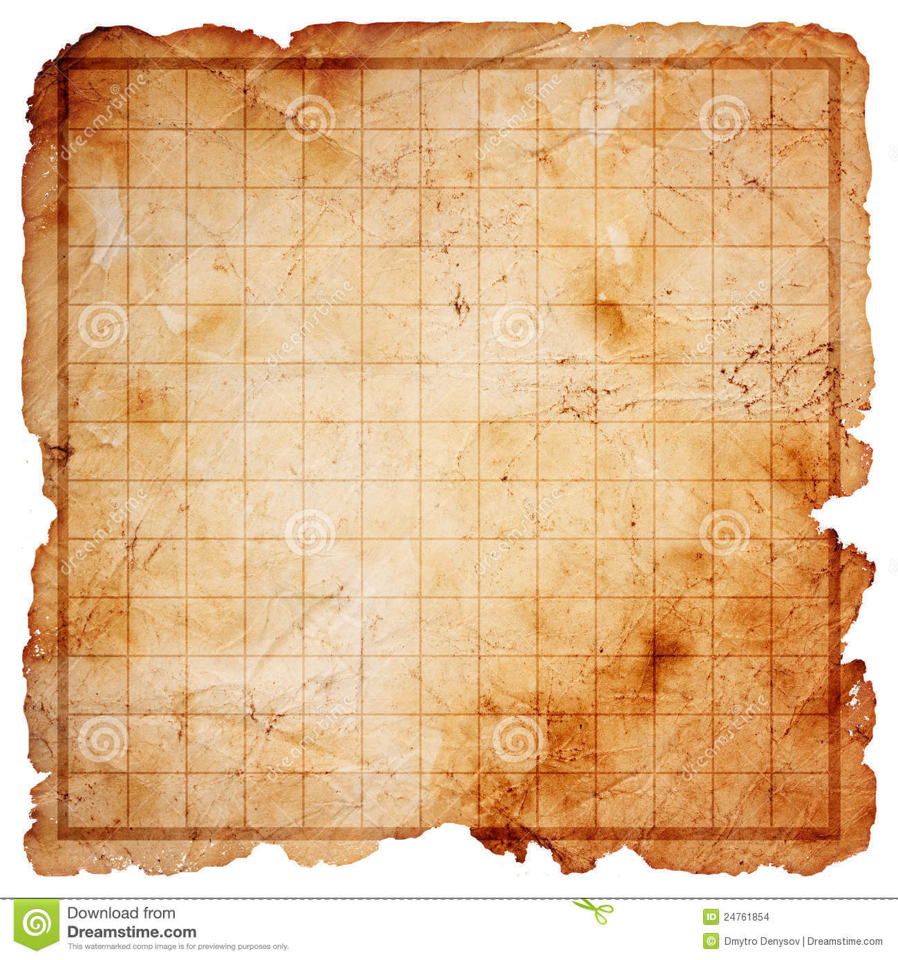 Blank Treasure Map Clipart Regarding Blank Pirate Map Template