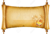 Blank Treasure Map Clipart with regard to Blank Pirate Map Template