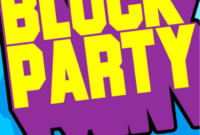 Block Party Template Flyers Free ] – Block Party Flyer in Block Party Template Flyer