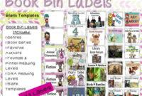 Book Bin Labels – Peertopia regarding Bin Labels Template
