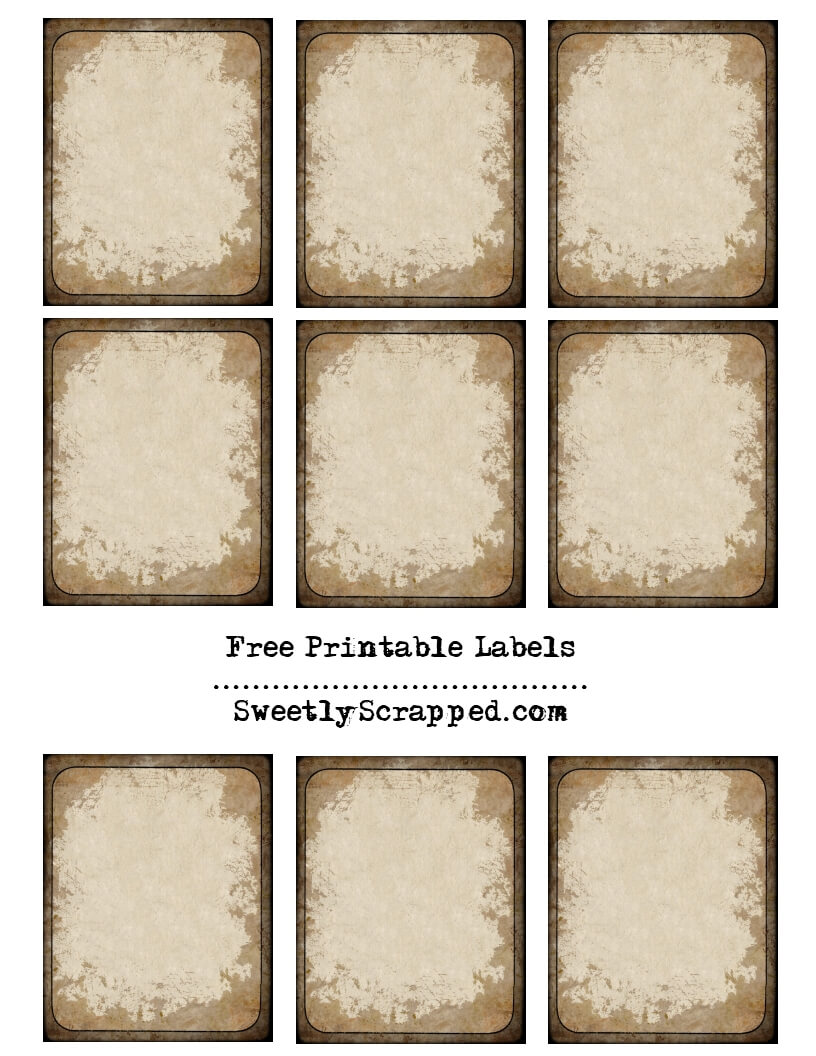 Book Label Template Free ] - Free Customizable Printable For Book Label Template Free