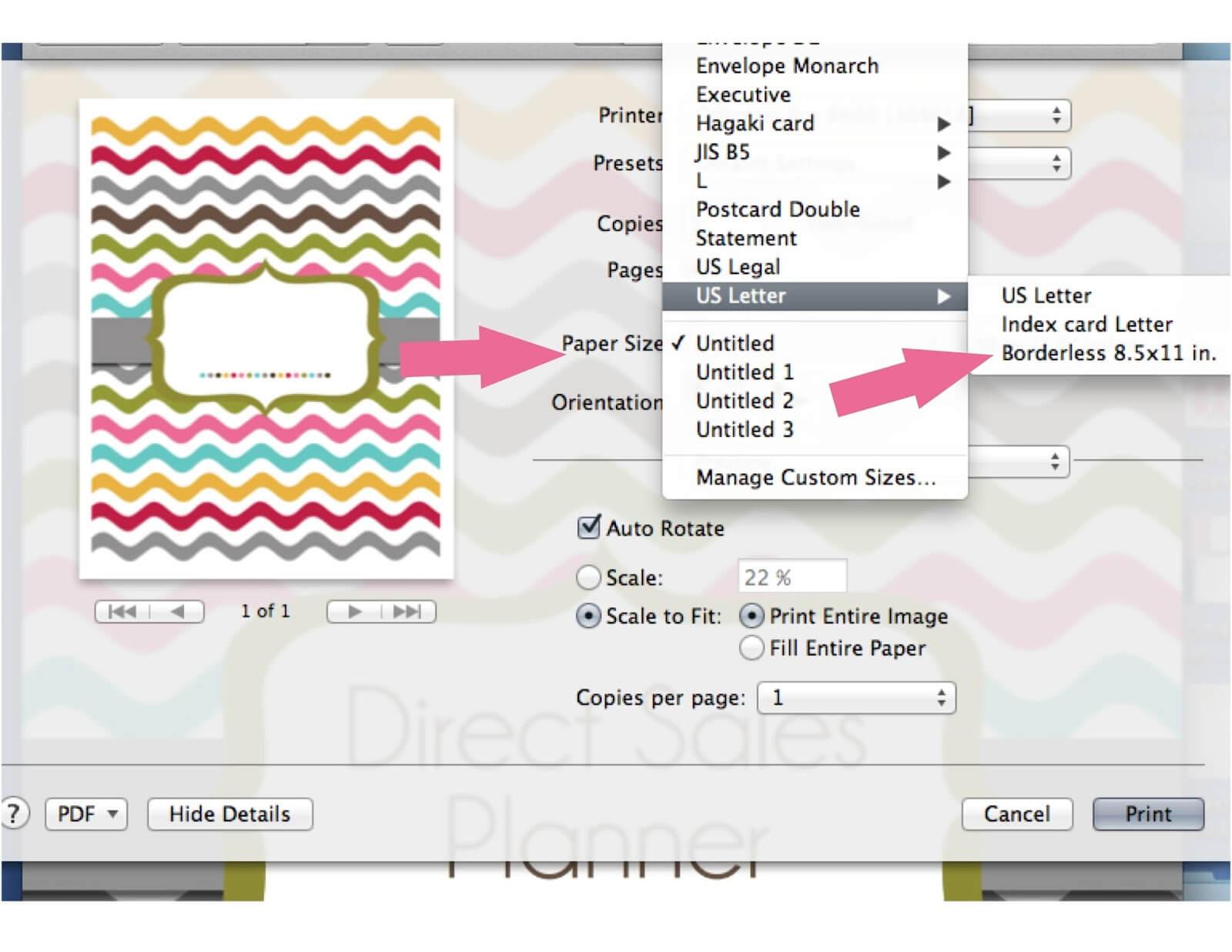 Borderless Certificate Templates ] - Custom Paper Invoices Throughout Borderless Certificate Templates