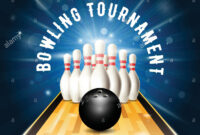 Bowling Tournament Flyer Template With Bowling Court within Bowling Party Flyer Template