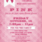 Breast Cancer Awareness Plaid Poster Inside Cancer Fundraiser Flyer Template